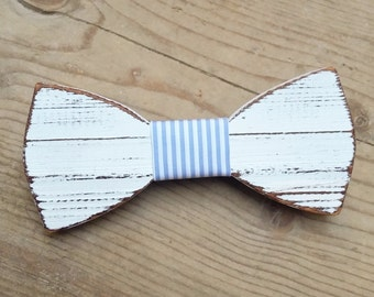 PAKILLON mod. Bachelor-wood bow with knot-tie tie bowtie fashion hipster