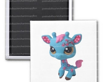 PRE-ORDER Custom Littlest Pet Shop Giraffe Magnet