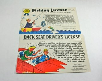 Items similar to powder puff derby race like a girl for Fishing license il