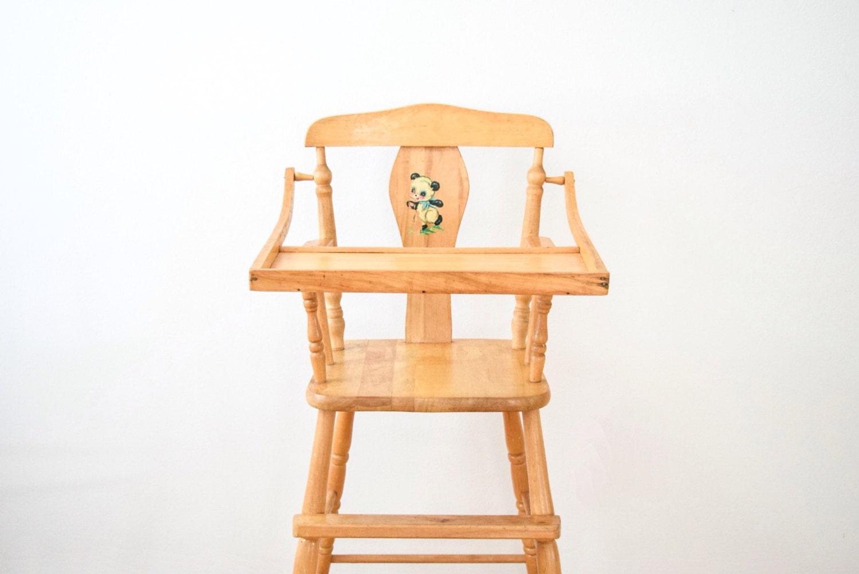 High Chair Antique High Chair Baby Chair Wooden High