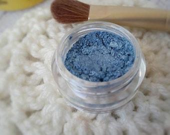 Eyeshadow, Eye Shadow, Organic Eyeshadow, Light Blue Eye Shadow - Blue Eye Shadow - Organic Makeup - Loose Eye Shadow - Organic Beauty