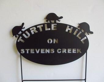Box Turtle Memorials, Pet Memorials, Pet Memorials, Metal Pet Memorials, Grave Markers, Pet Cemetery Marker, Turtle Crossing, Address Signs