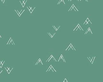 Coming Home Spring VOILE premium cotton fabric - Art Gallery Fabrics - Bound, April Rhodes, arrow, arrow fabric, apparel fabric