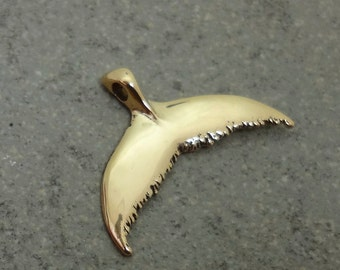 Humpback Whale Flukes - Whale Tail Pendant - Handmade in the Pacific Northwest