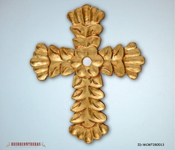 Gold Cross Wall Decor : Items similar to inch handmade decorative crosses
