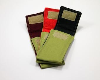 "Olive ""Trapper"" Pocket for 4 to 4 1/2 in. Folding Knife"