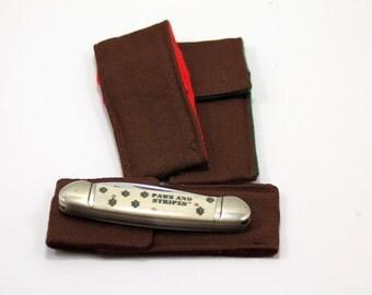 "Brown ""Whittler"" Pocket for 3 to 3.75  in. Folding Knife"