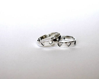 Babies and kids ring in sterling silver