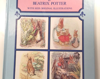 Tales of Peter Rabbit by Beatrix Potter with her Original Illustrations 1980