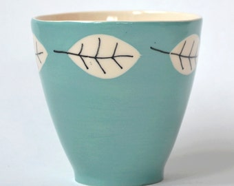Coffeecup in Turquoise