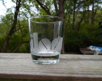 The Doors Hand Etched Drinking Glass