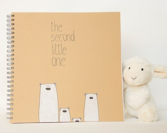 the SECOND little one - baby's journal for the second child