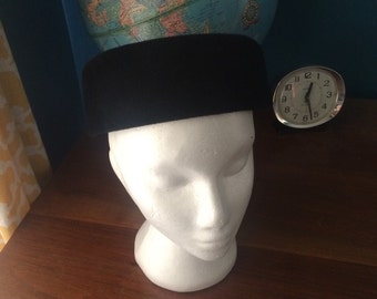Vintage Sears Peachbloom Velour Hat size 22