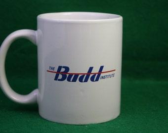 Vintage Budd Automotive and Train Manufacturer Motivational Company Coffee Mug - NOS
