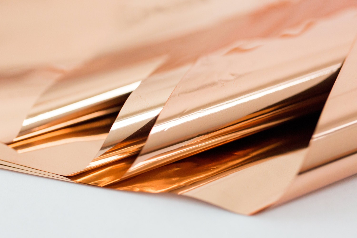 Rose Gold Mylar 10 sheets
