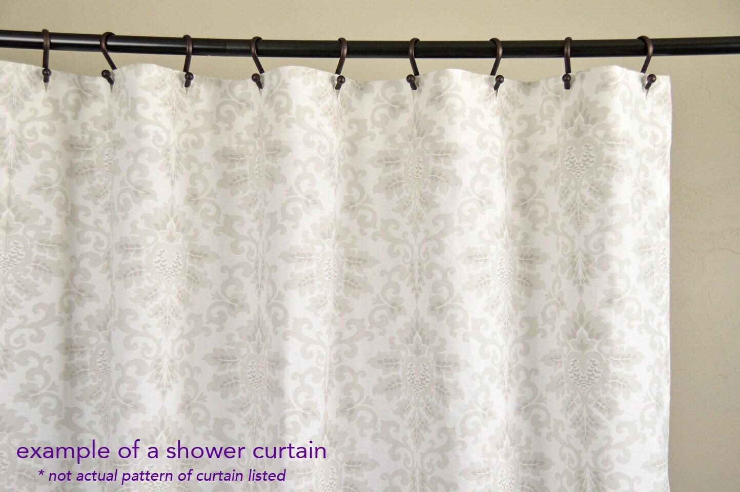 Fabric Shower Curtain LULU STORM Corn YELLOW 72