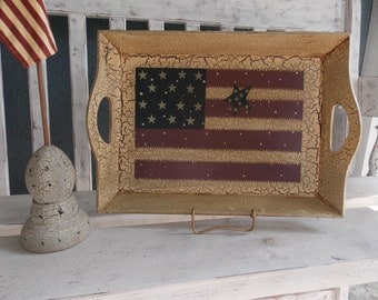 Wood Tray..... Country Style Decor