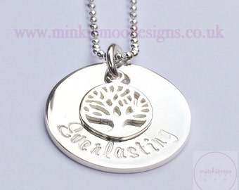 Tree of life necklace | everlasting | family meaning | representing family | family roots | evolutinary metaphor | biblical symbolism