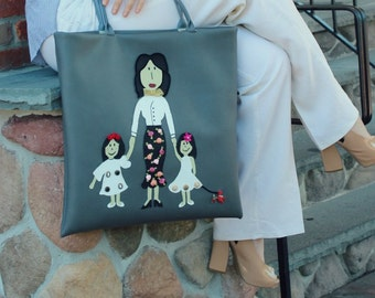 FREE SHIPPING / Large spacious purse/tote