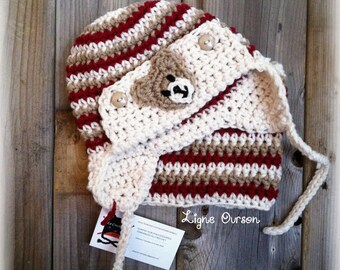 Hat and neck warmer (on order)