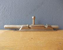 Vintage Door LOCK / Vintage Rusty Cabinet Door Lock / Door Hardware / Salvaged Furniture Hardware / Made in USSR