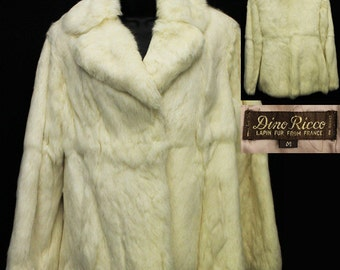 1970s French Rabbit Fur
