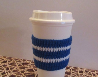 Coffee Cozy - Customized coffee sleeve - Team cozy - Coffee cup to go sleeve