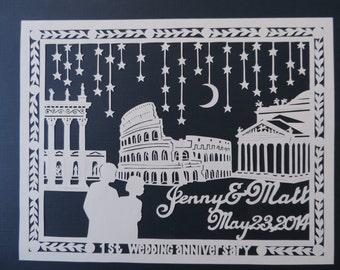 Anniversary Paper Art