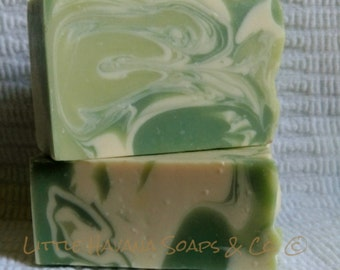 Coconut Lime-Natural Handmade Vegan Soaps