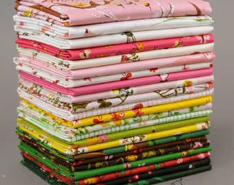 TIGER LILY by Heather Ross -  Complete Half Yard Bundle Collection