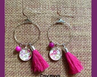 Earing éloïse pink