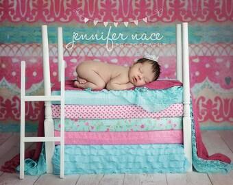 Newborn Baby Photography Prop Princess & the Pea Mattress set