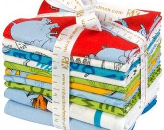 Horton Hears A Who Fat Quarter Bundle by Dr. Seuss