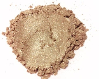 GOLD GLIMPSE  Pure Mineral Eye Color Shimmeral Shadow Mineral Makeup