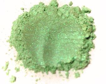 MINT JULEP Mineral Eye Shadow - Natural Makeup - Gluten Free Vegan Face Color