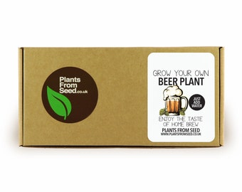 Grow Your Own Beer Mini Plant Kit