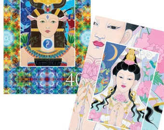 The Art of Becoming the Master Within - 44 inspirational card deck