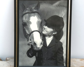 Vintage Equestrian Print