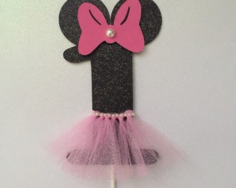 minnie mouse tutu centerpiece