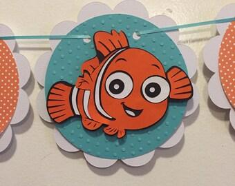 Nemo baby shower banner