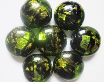 8 pcs Lampwork Glass Beads 20 mm, Focal Bead - Item 009L
