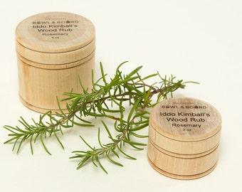 Wood Rub Care and Preserver Naturally Antibacterial Rosemary