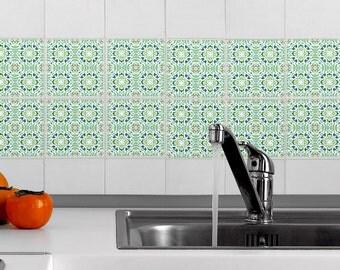 Tile Decals Set Stickers For Kitchen Backsplash