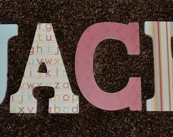 4 Letter Name Wall Art