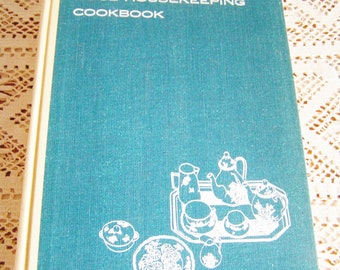 Vintage The New Good Housekeeping Cookbook 1963 1st Edition Vintage Cook Book