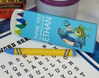 Personalized crayon box ( SKU# MUCB01 )