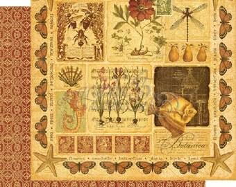 Graphic 45 BotanicalBella Collection Kit