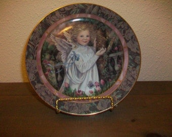 "Bradford Exchange limited edition ""Grace"" plate."