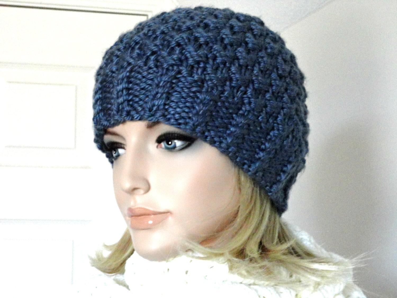 Knitting Pattern Hat Knit Beanie Pattern Women Hat Pattern ...