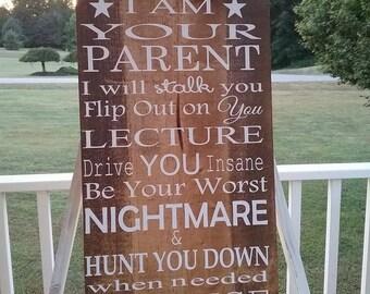 Parent Sign